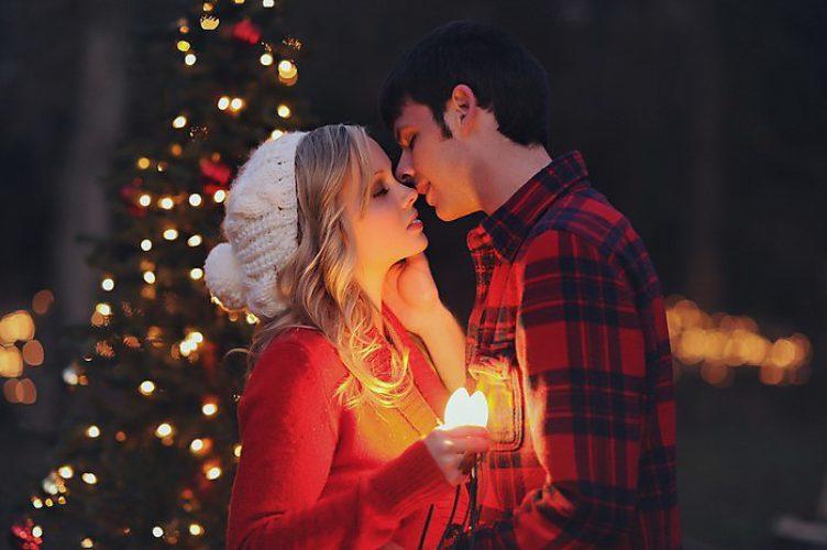 Картинки про новый год он и она