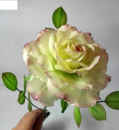 Как сделать розу из мастики 5 фото + видео+ рецепт - Полезные ...