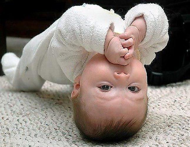 Прикольные картинки про новорожденных детей