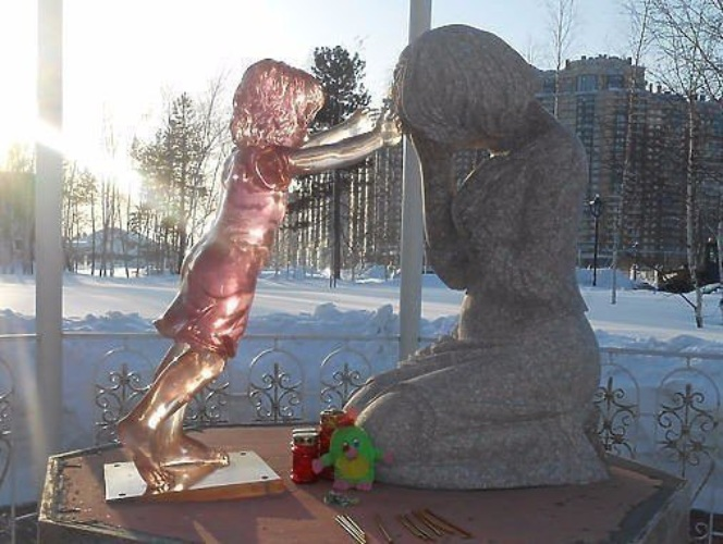 памятник неродившимся детям фото рижский голубок это