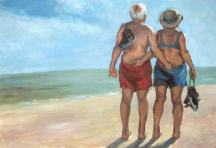 Прикольное рисунки старика