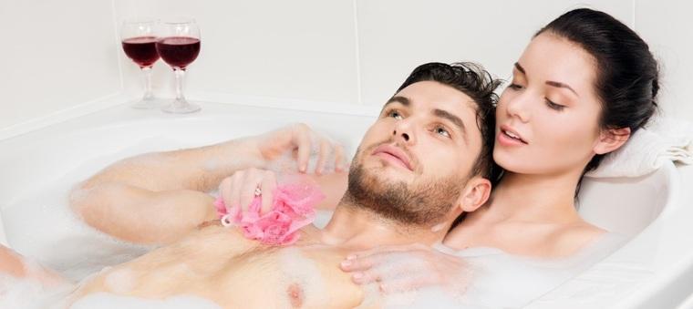 Картинки с любимой в ванной