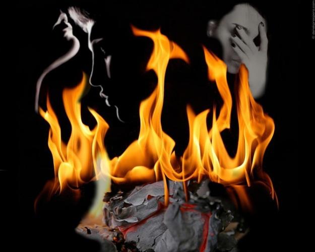 Картинки по запросу Сожгите прошлое в огне - гори всё прахом.