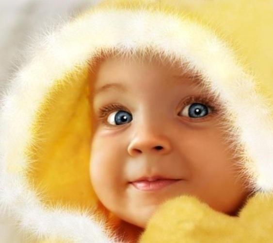 Картинка маленького ребенка с надписью