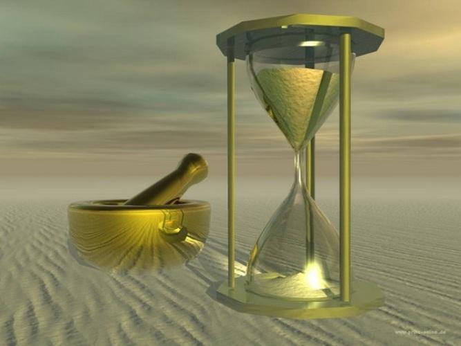 Время быстротечно в картинках