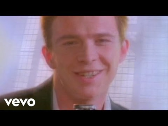 Rick Astley Never Gonna Give You Up Video Youtube - 600×450