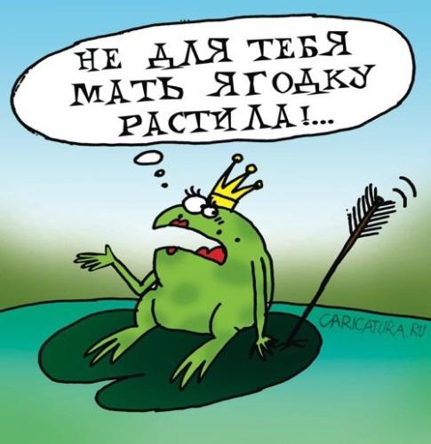 Прикольные, прикольные картинки про царевича и лягушку