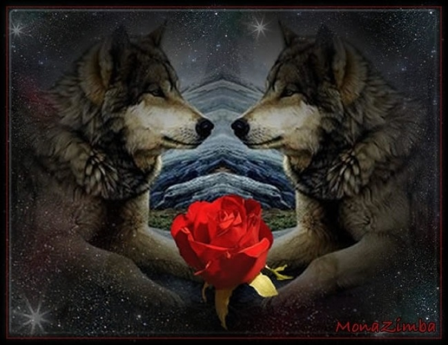 аффлек познакомил анимационные фото волка с цветком незнакомец акцентом, поэтому